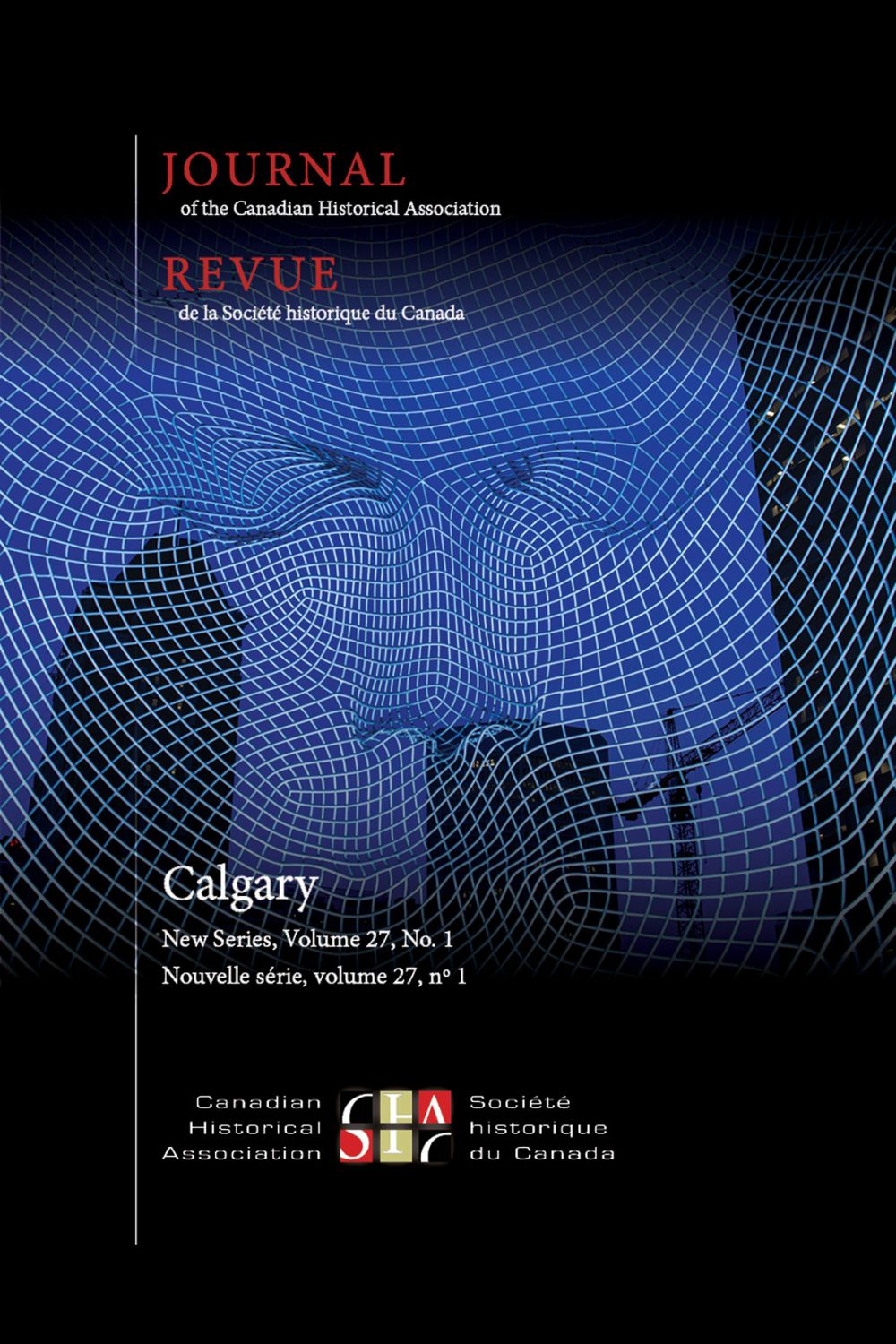 Journal of the Canadian Historical Association. Vol. 27 No. 1,  2016