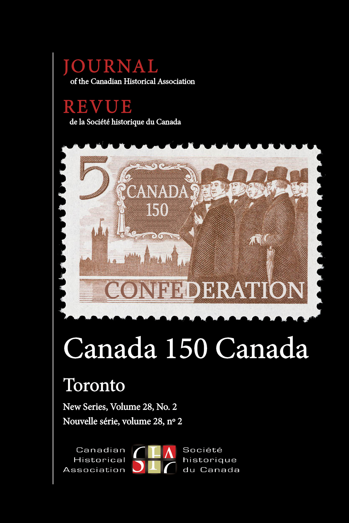 Journal of the Canadian Historical Association. Vol. 28 No. 2,  2017