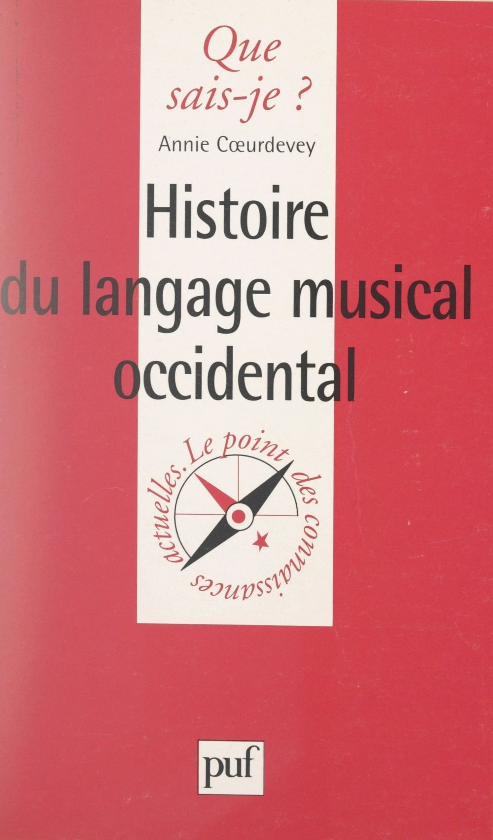 Histoire du langage musical occidental