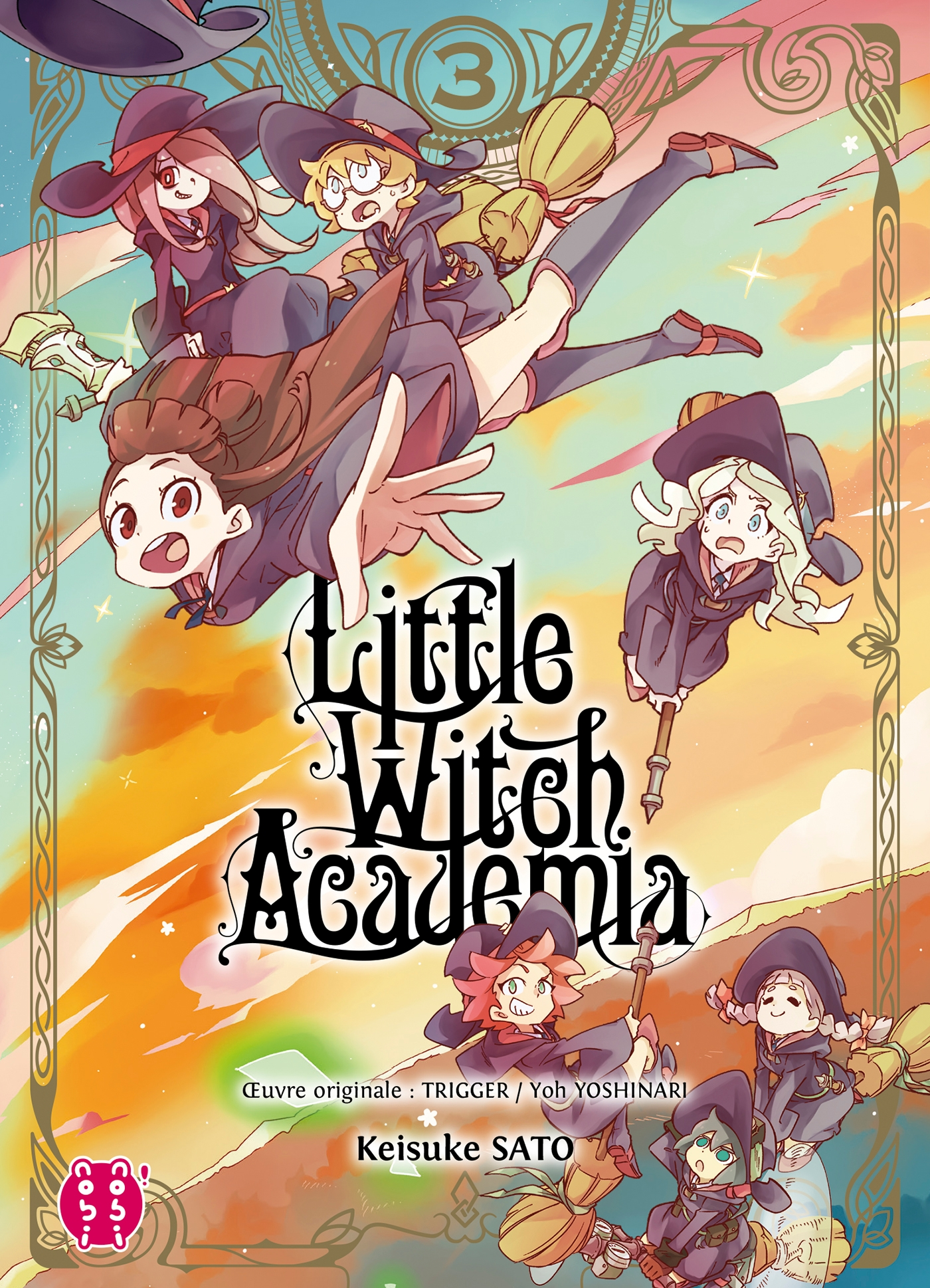 Little Witch Academia T03