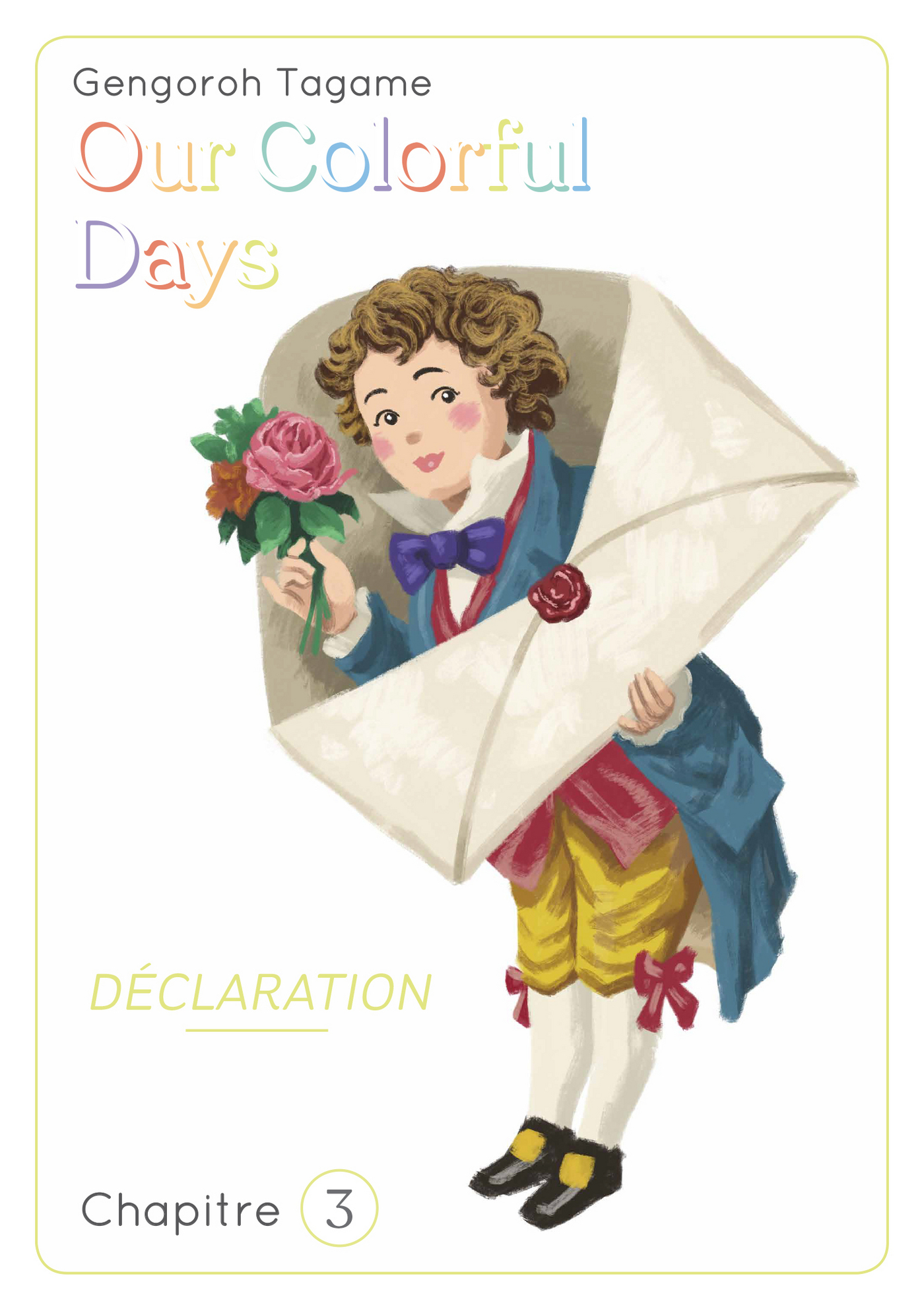 Our colorful Days - chapitre 3