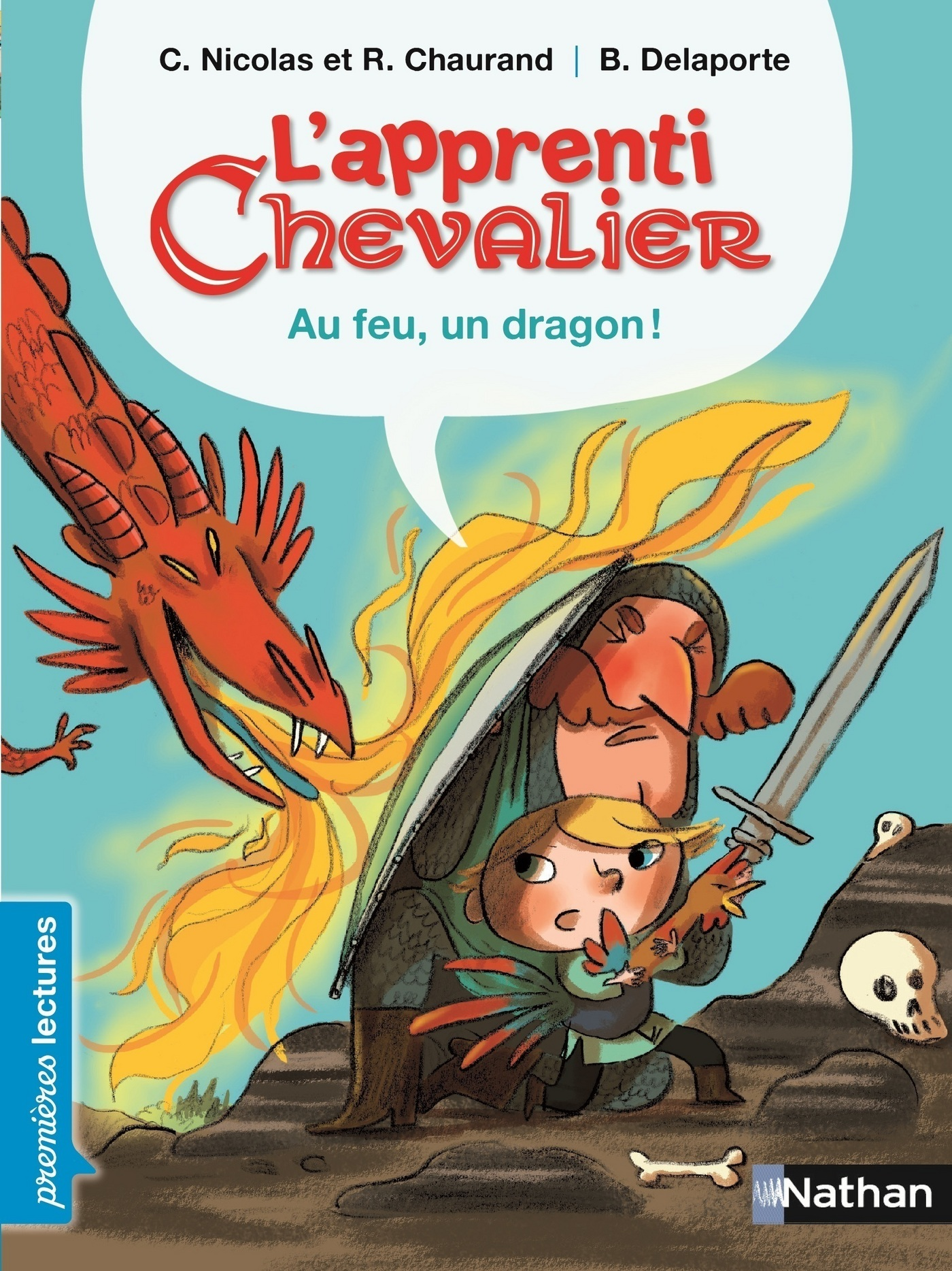 Au feu, un dragon !