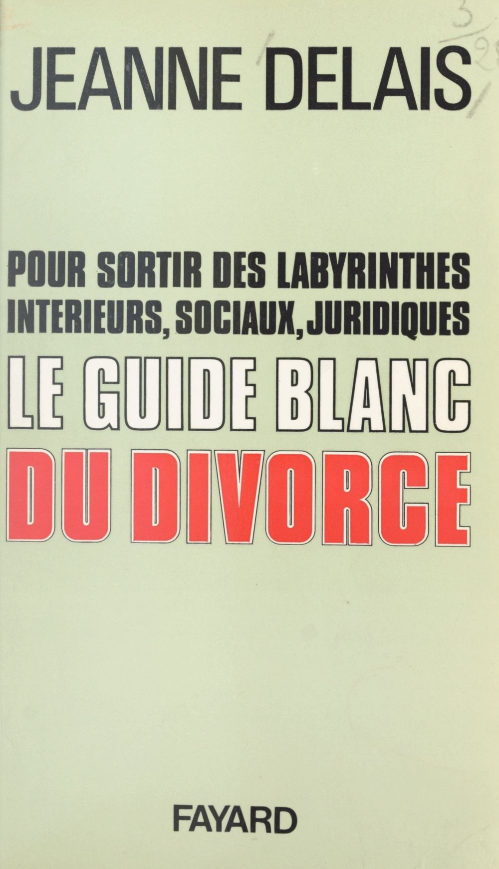 Le guide blanc du divorce