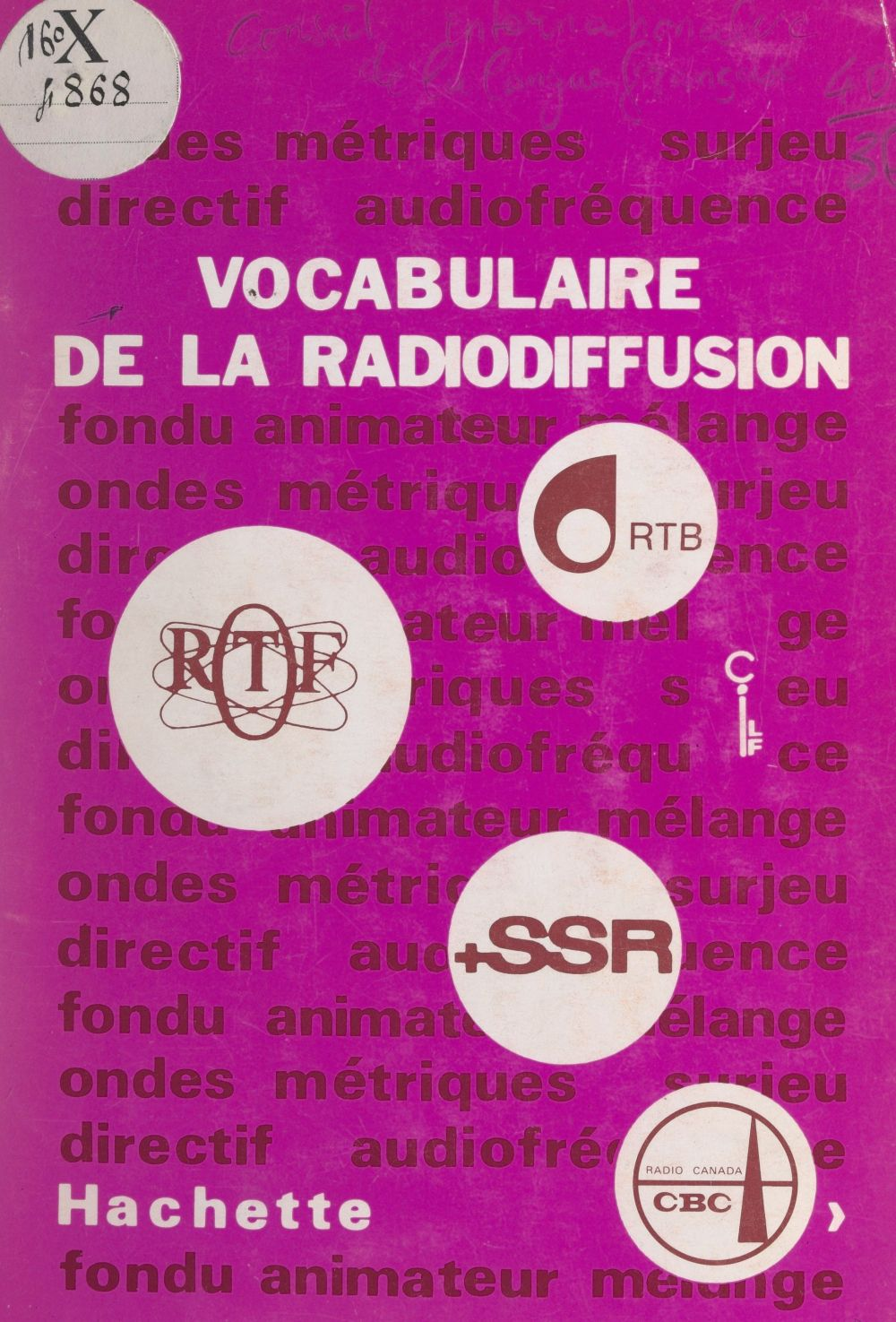Vocabulaire de la radiodiffusion