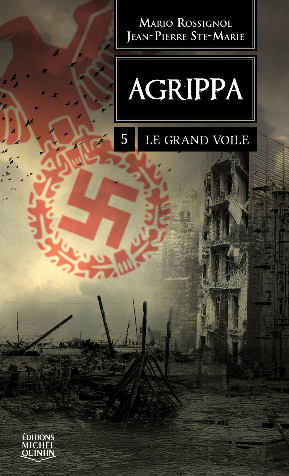 Agrippa 5 - Le grand voile