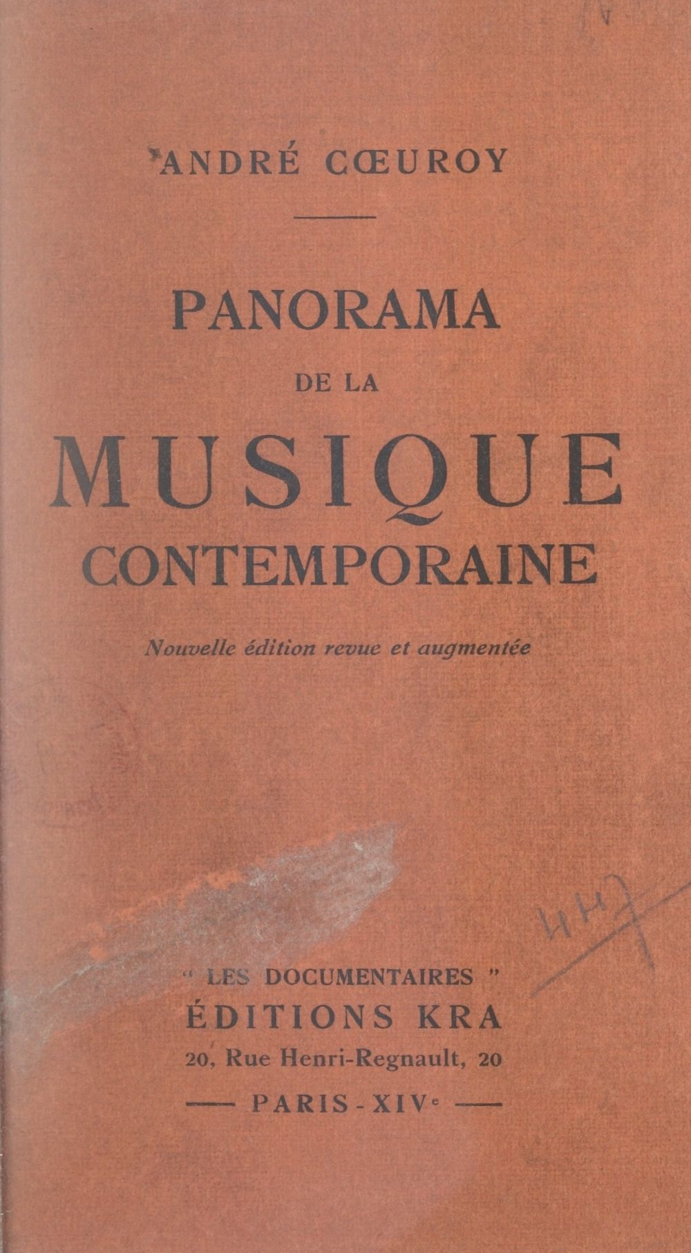 Panorama de la musique contemporaine