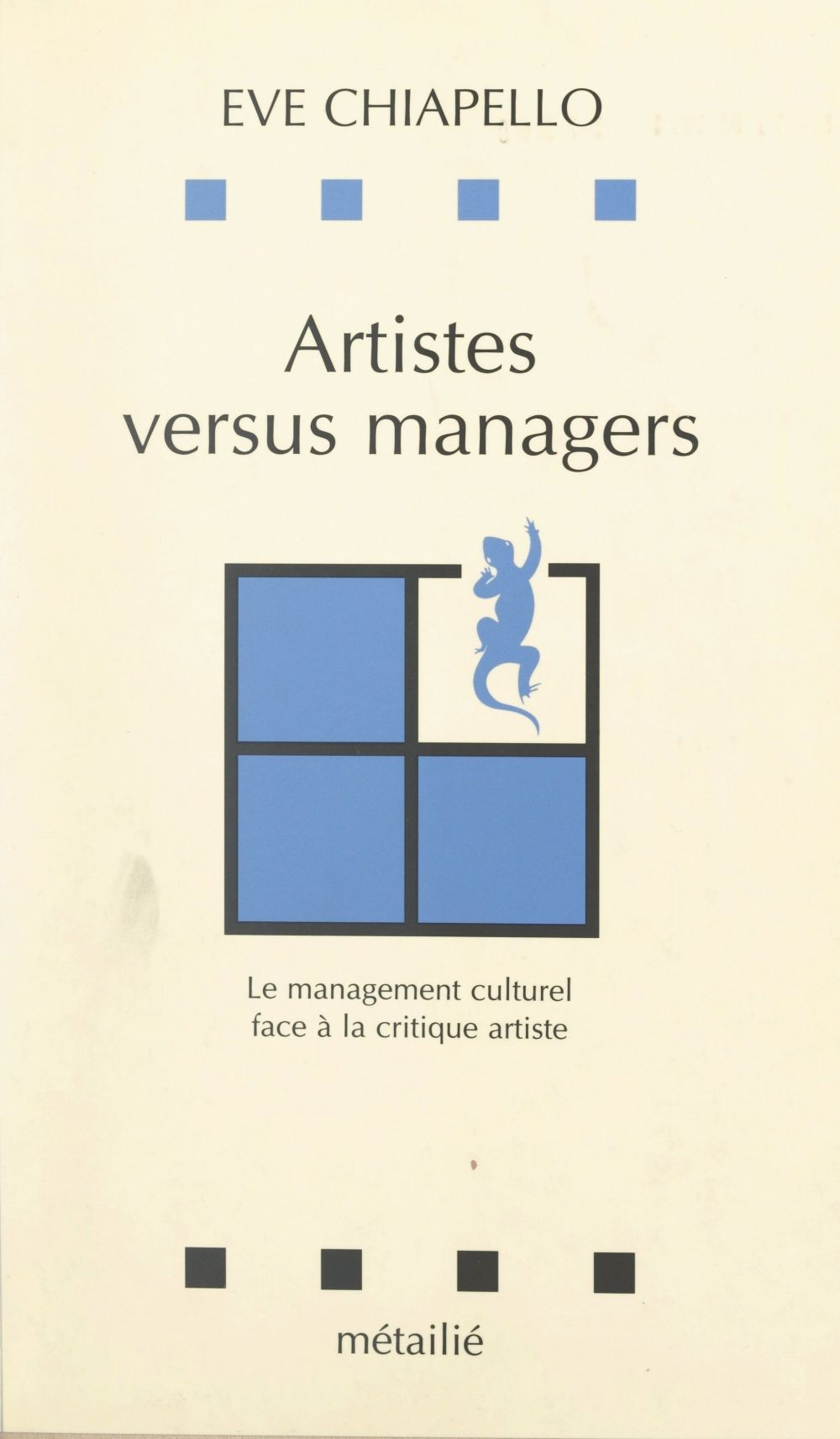 Artistes versus managers