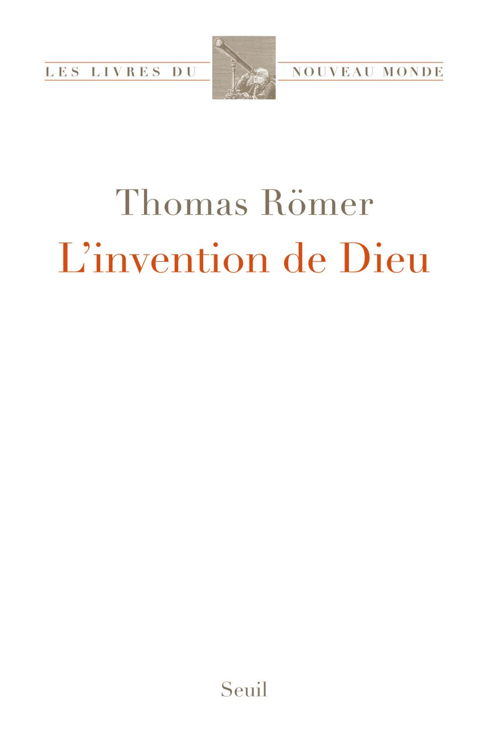 L'Invention de Dieu