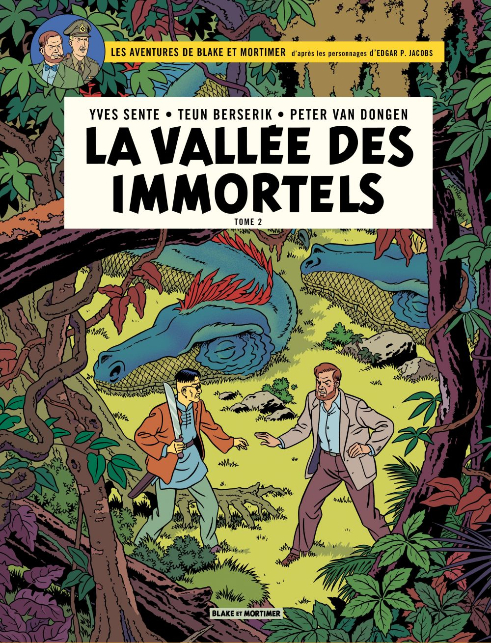 Blake & Mortimer - Volume 26 - La Vallée des immortels