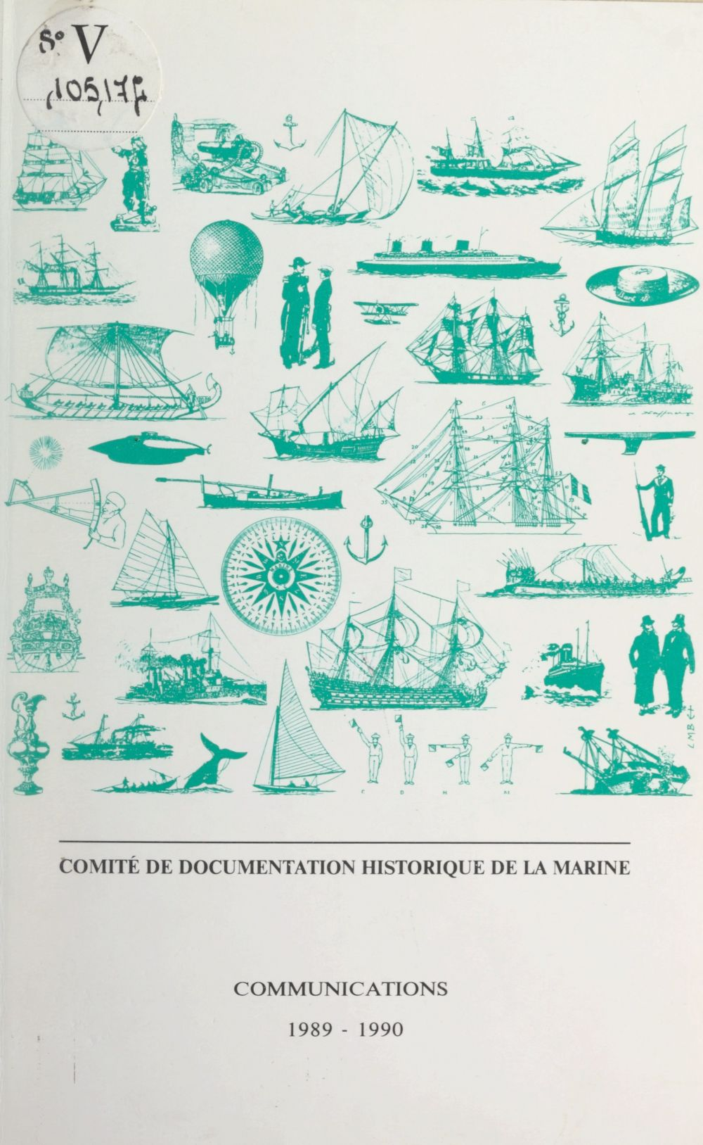 Comité de documentation historique de la marine. Communications 1989-1990