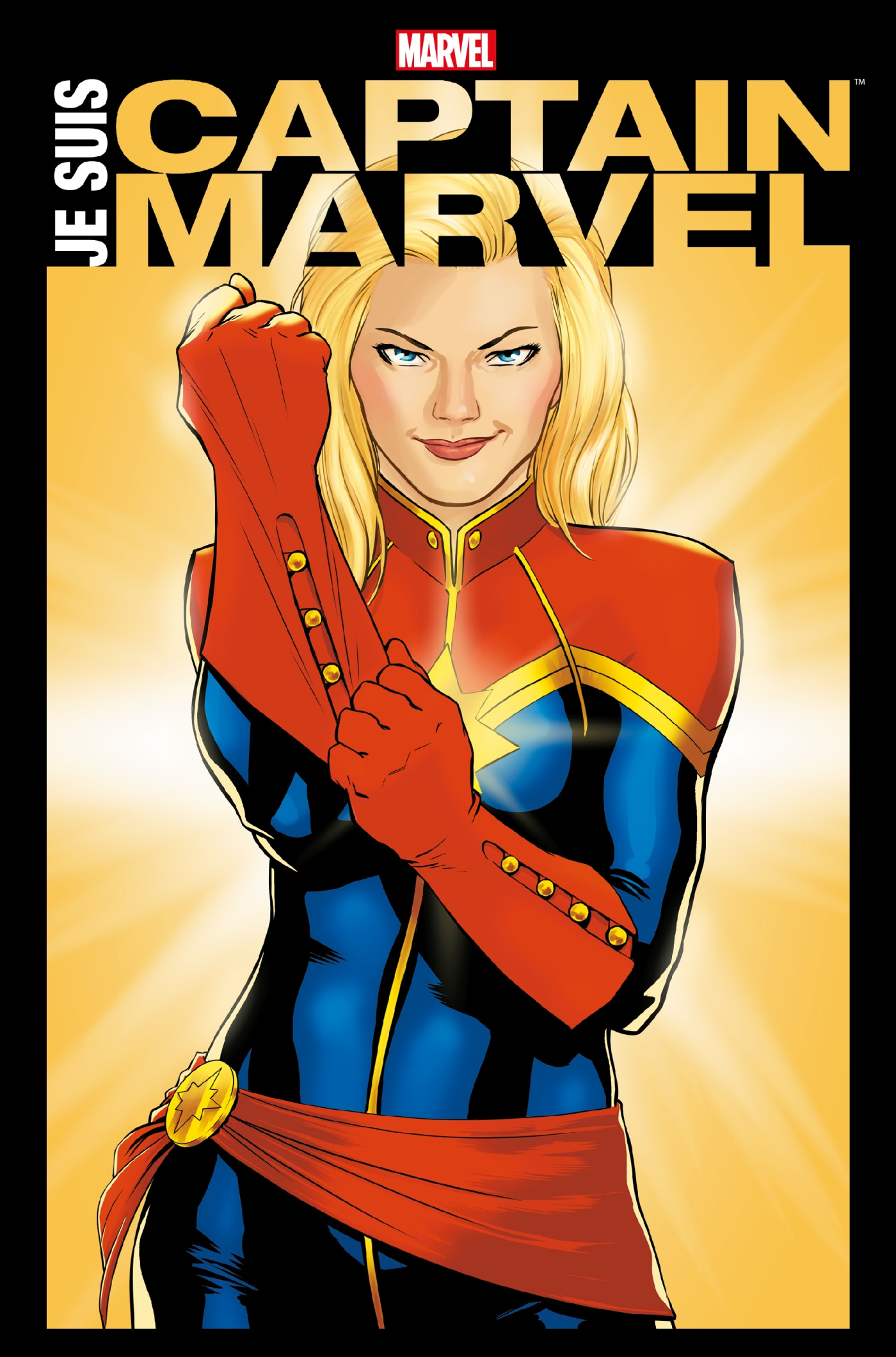Image de couverture (Je suis Captain Marvel)