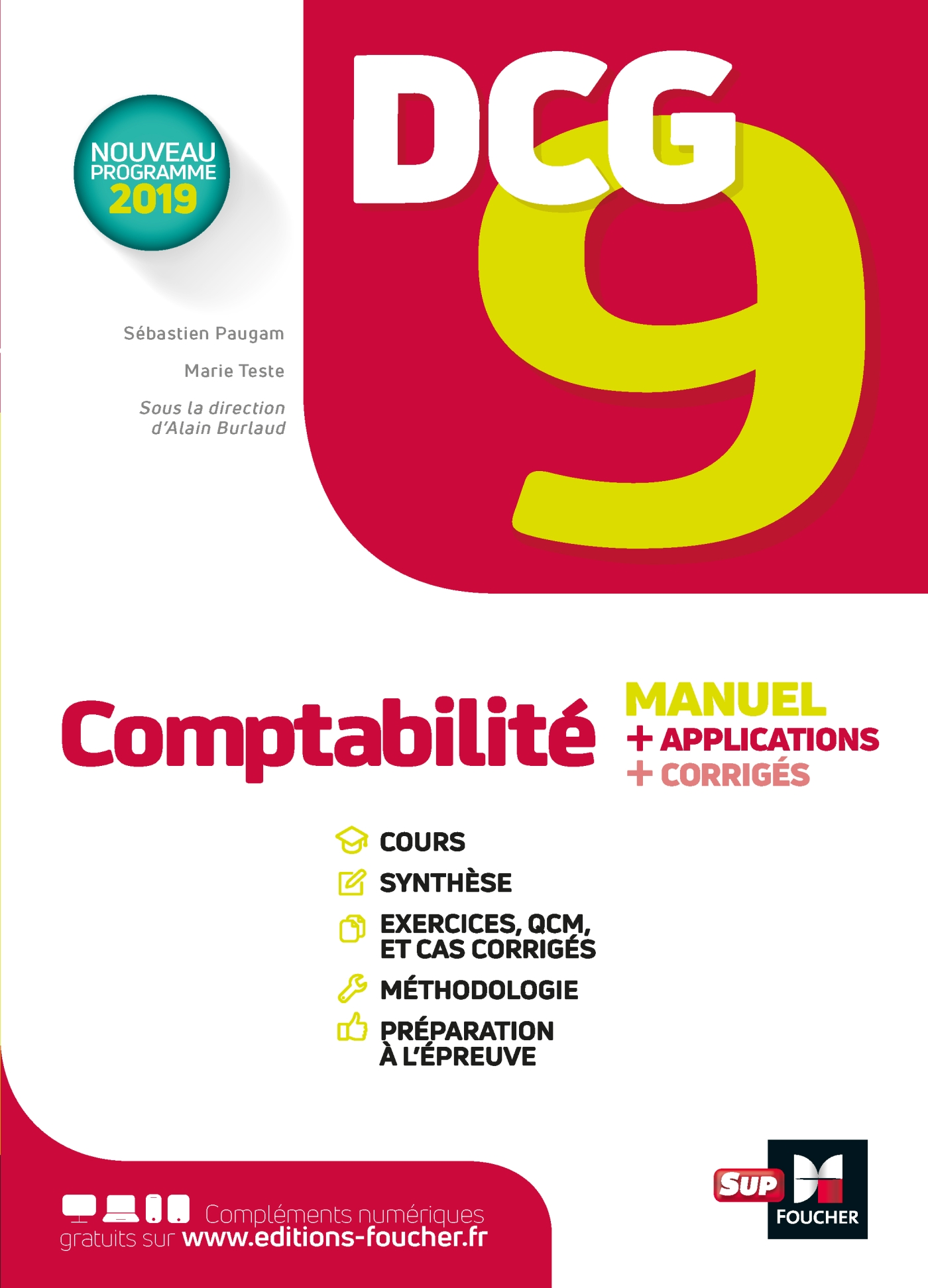 DCG 9 - Comptabilité - Manuel et applications