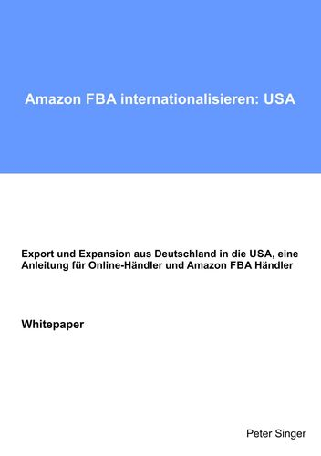 Amazon FBA internationalisieren: USA