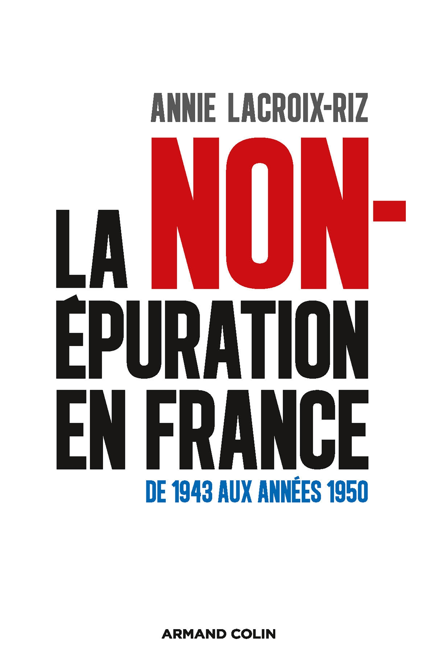 La non-épuration en France