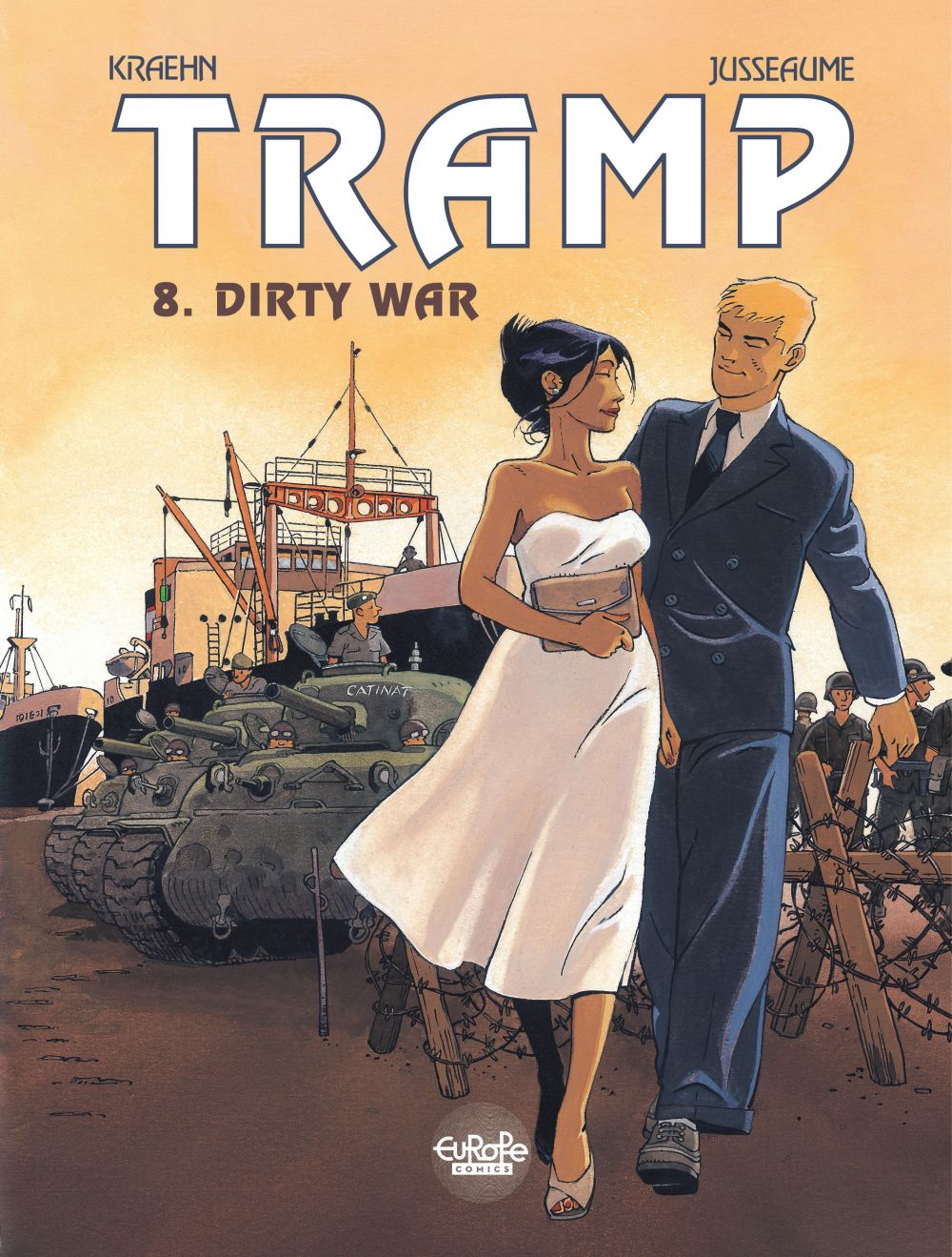 Tramp - Volume 8 - Dirty War