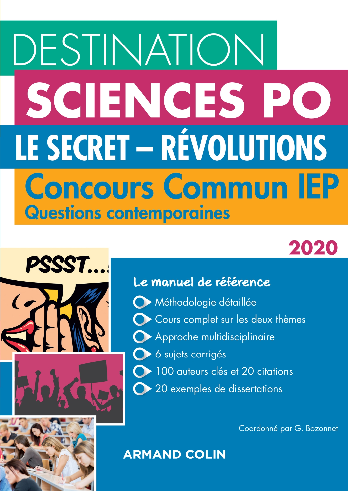 Destination Sciences Po Questions contemporaines 2020 - Le secret - Révolutions