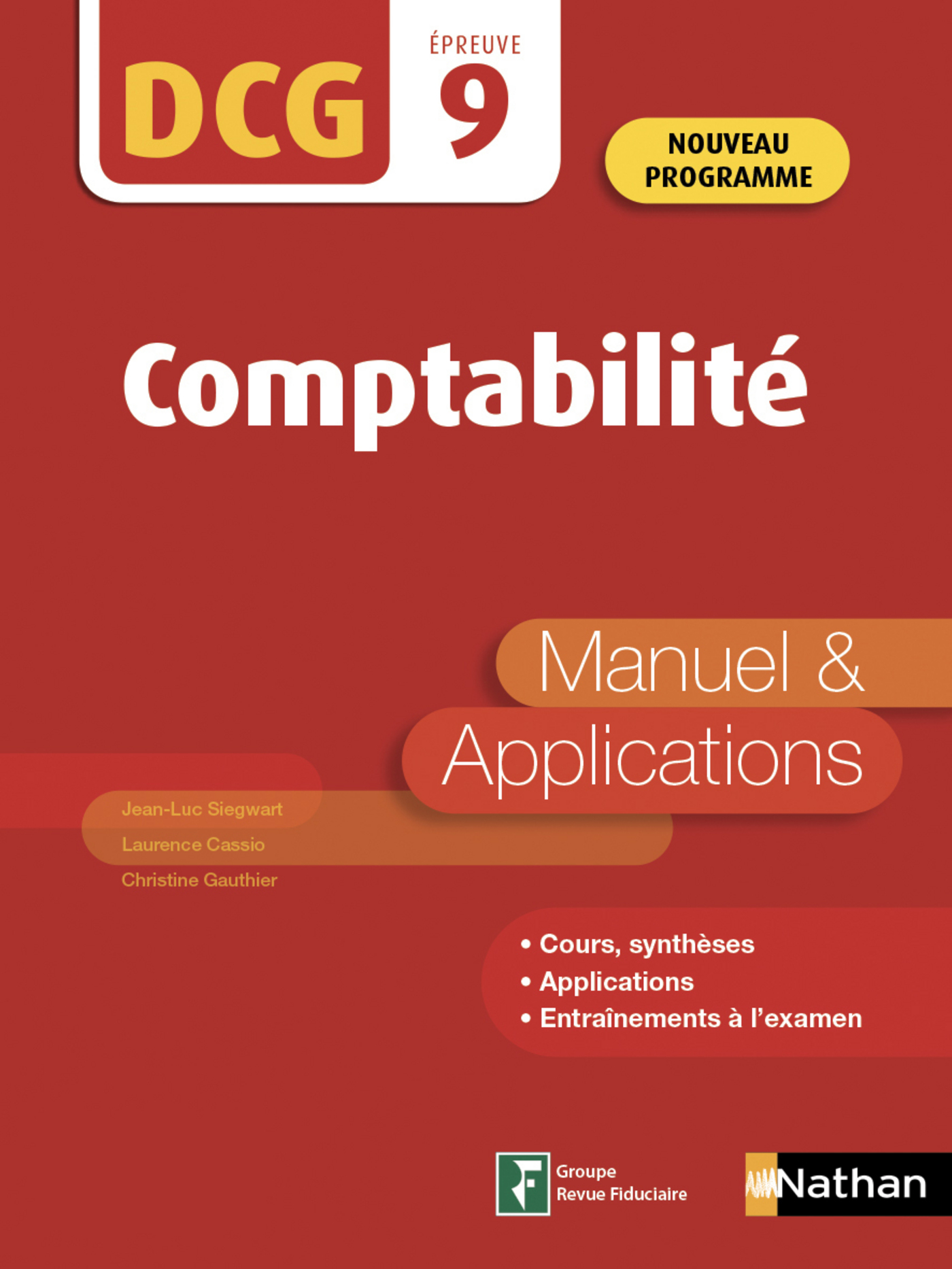 Introduction à la comptabilité - DCG Epreuve 9 - Manuel et applications (Epub 3 RF) - 2019