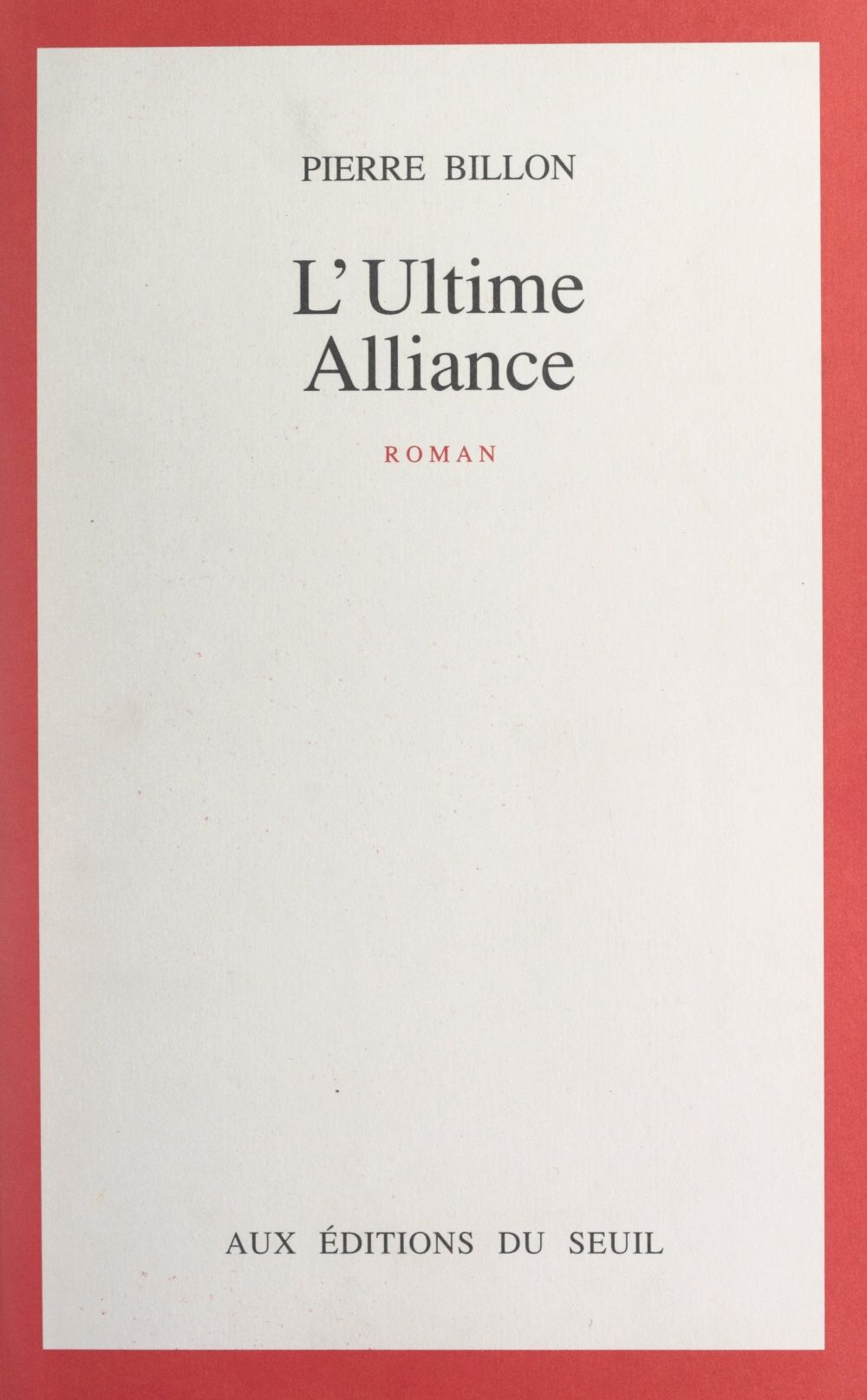 L'ultime alliance