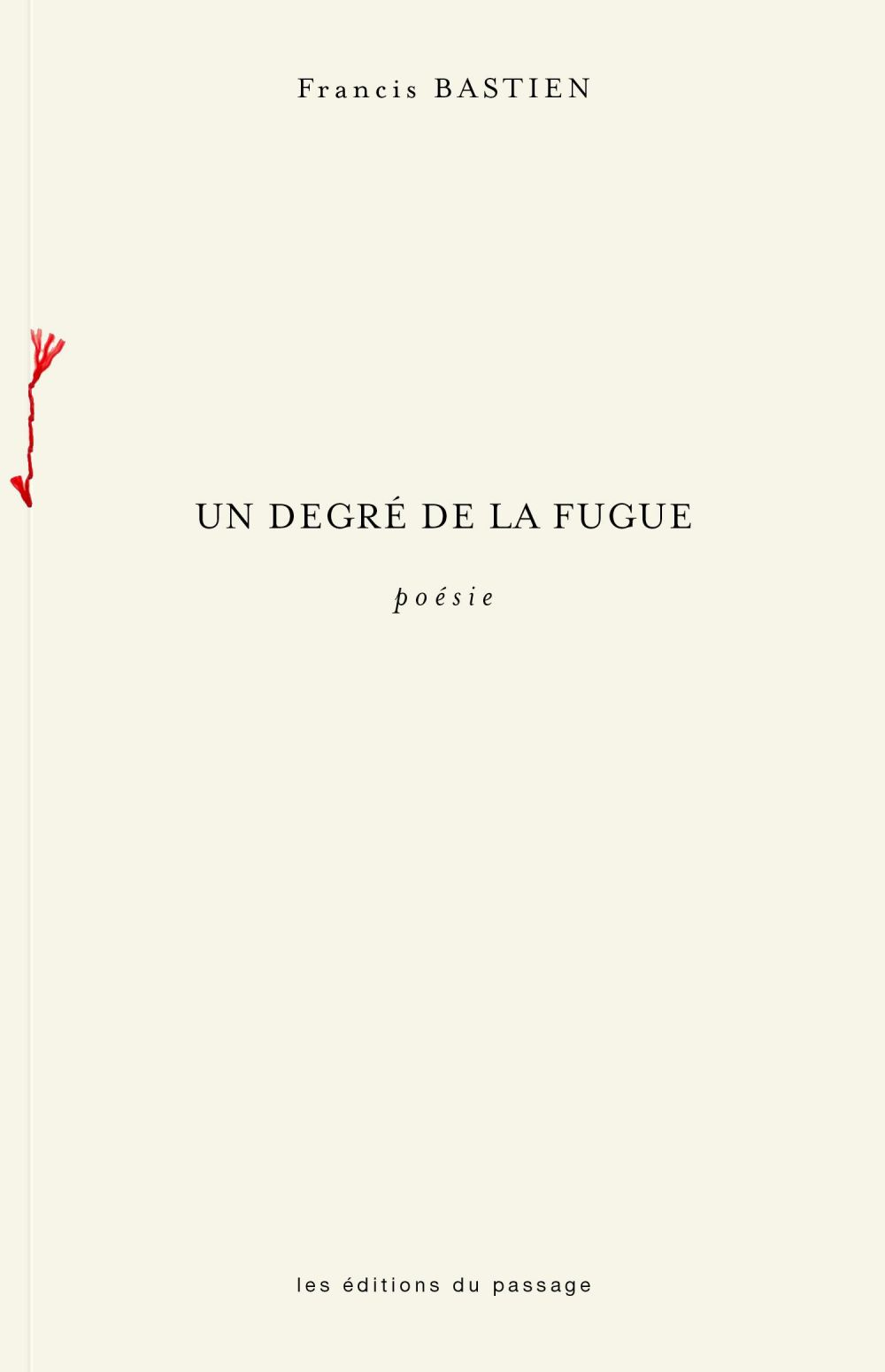 Un degré de la fugue