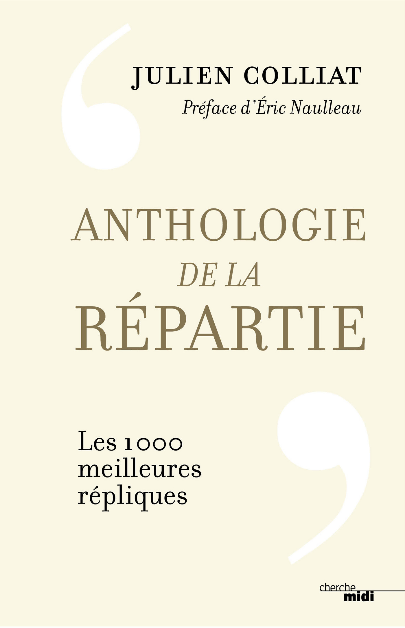 Anthologie de la répartie