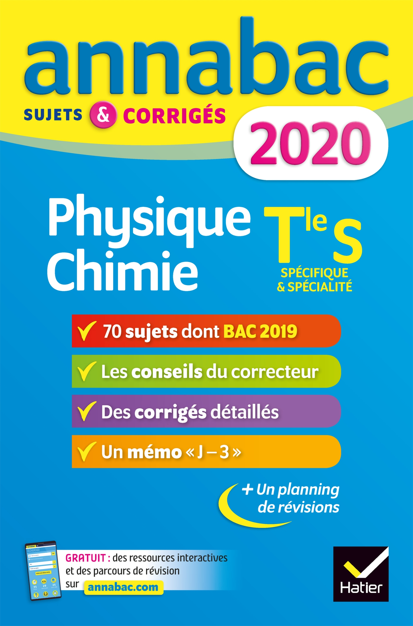 Annales Annabac 2020 Physique-chimie Tle S