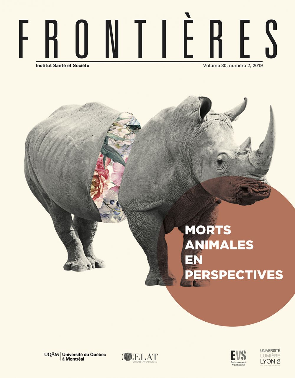 Frontières. Morts animales en perspectives (vol. 30, no. 2,  2019)