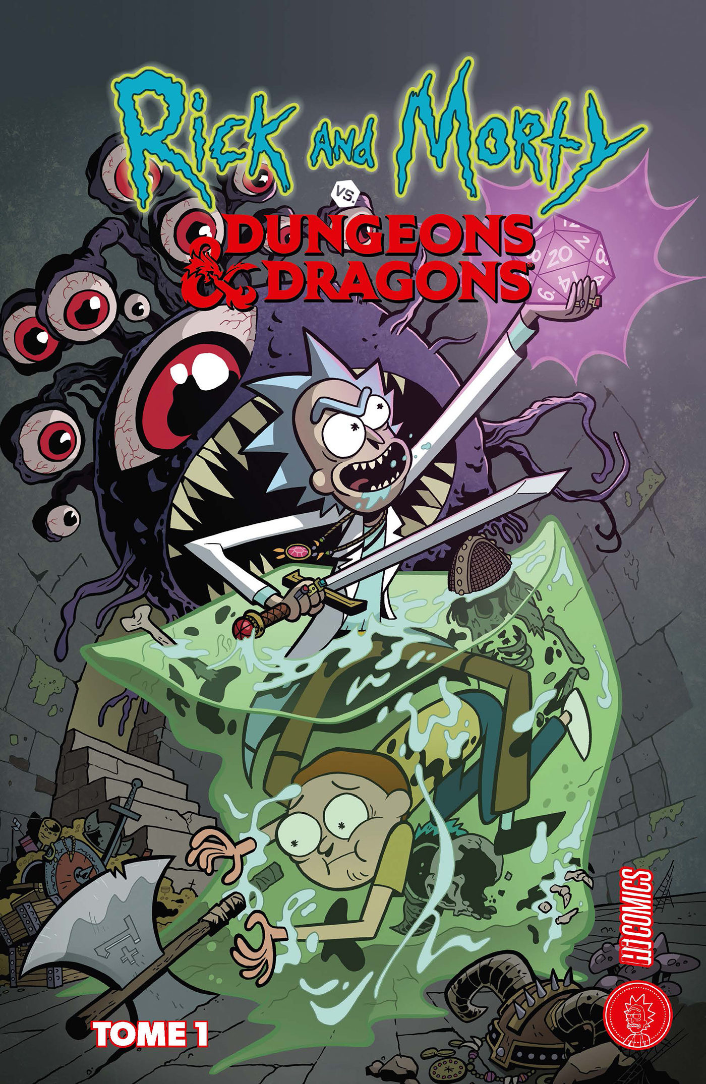 Les univers de Rick & Morty : Rick & Morty x Dungeons & Dragons
