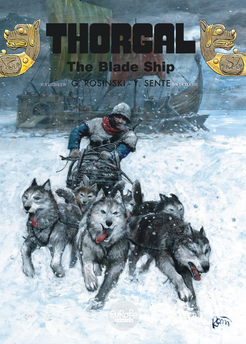 Thorgal - Volume 25 - The Blade Ship
