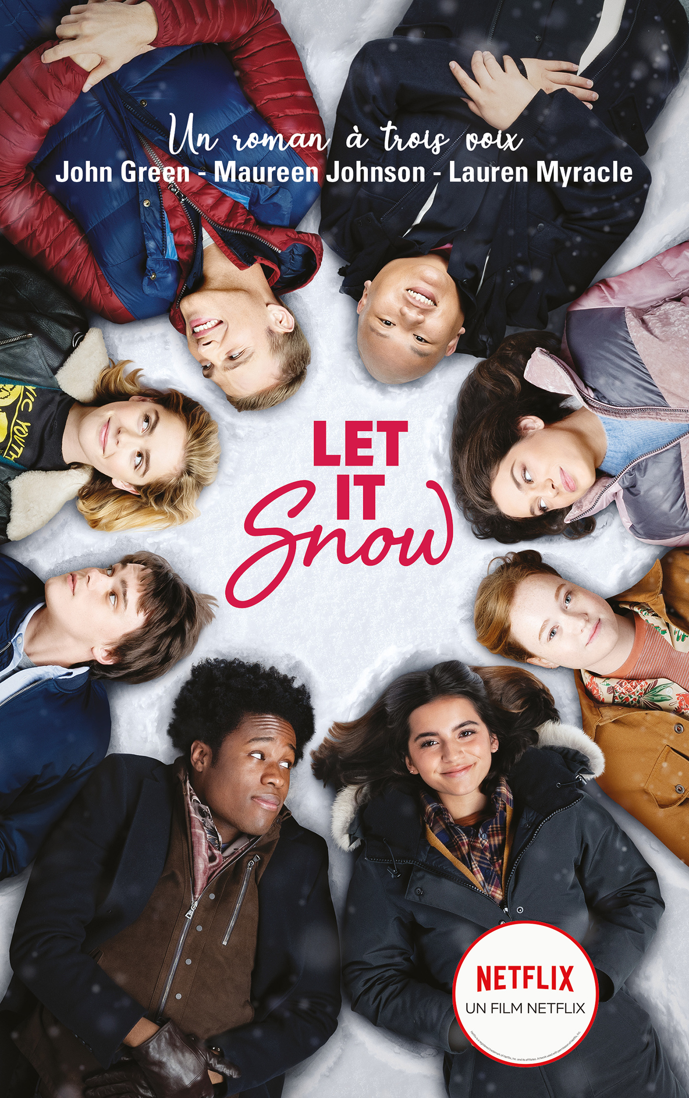 Let It Snow - Le roman Flocons d'amour à l'origine du film Netflix | Green, John. Auteur