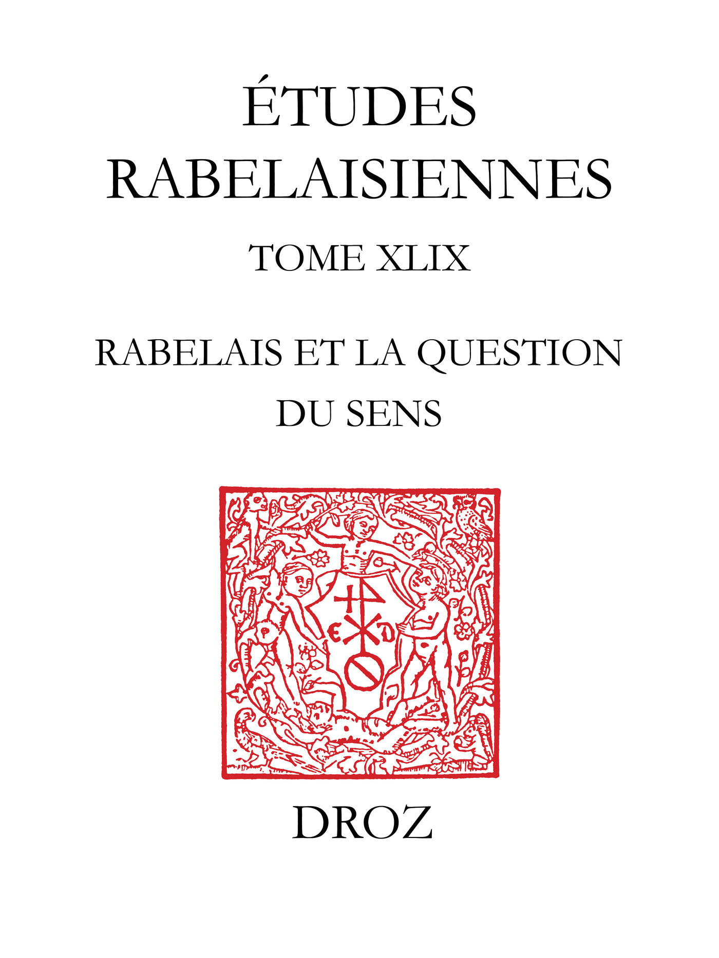 Rabelais et la question du sens
