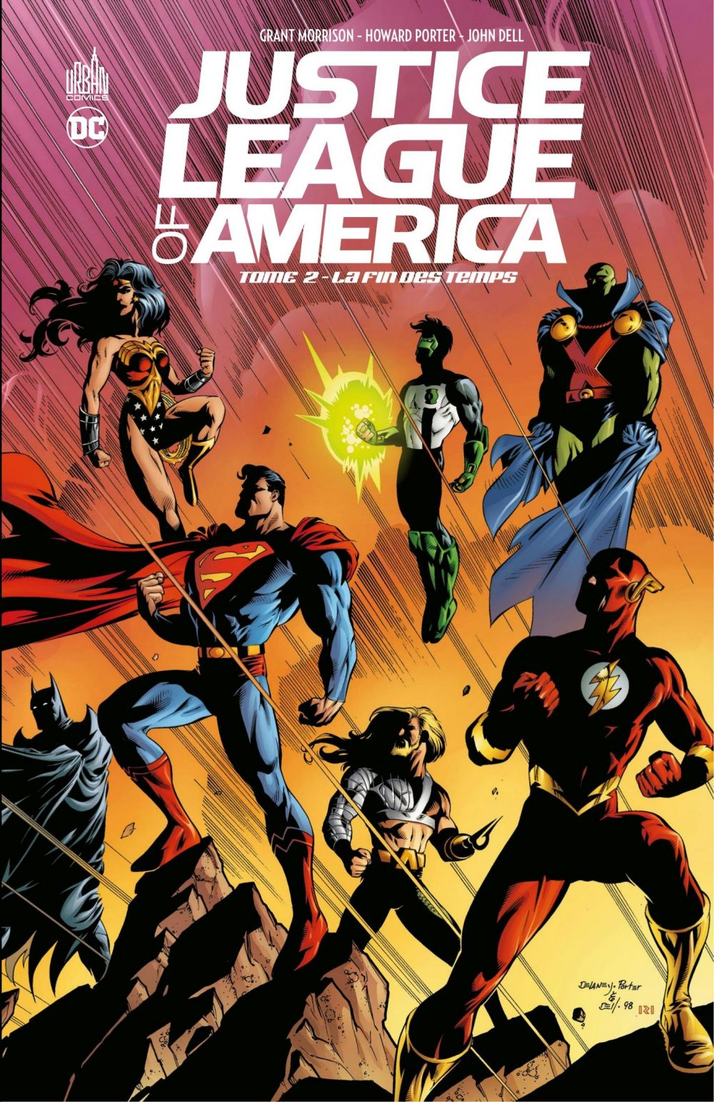 Justice League of America - Tome 2 - La fin des temps