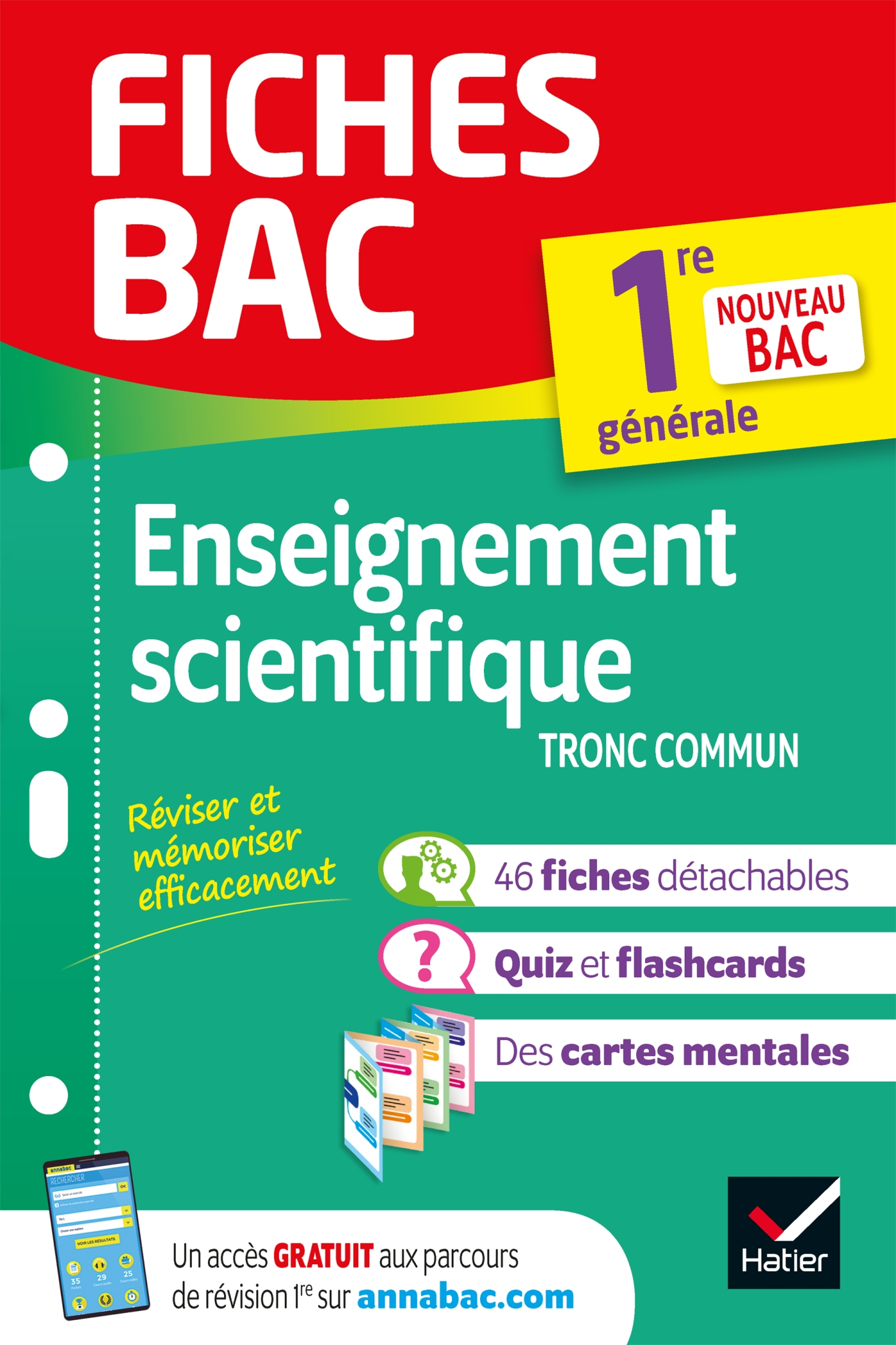 Fiches bac Enseignement scientifique 1re (tronc commun)