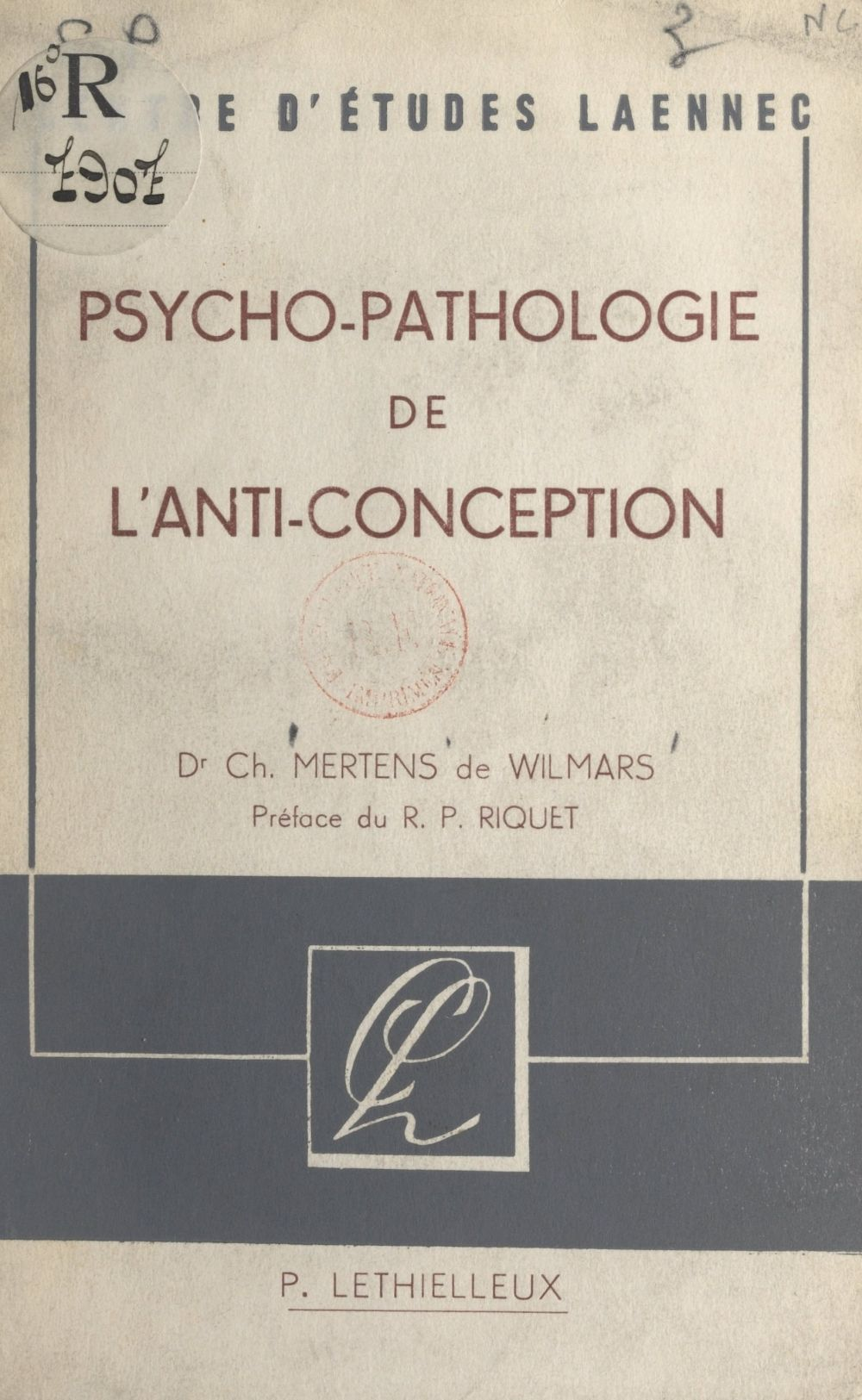 Psychopathologie de l'anti-conception