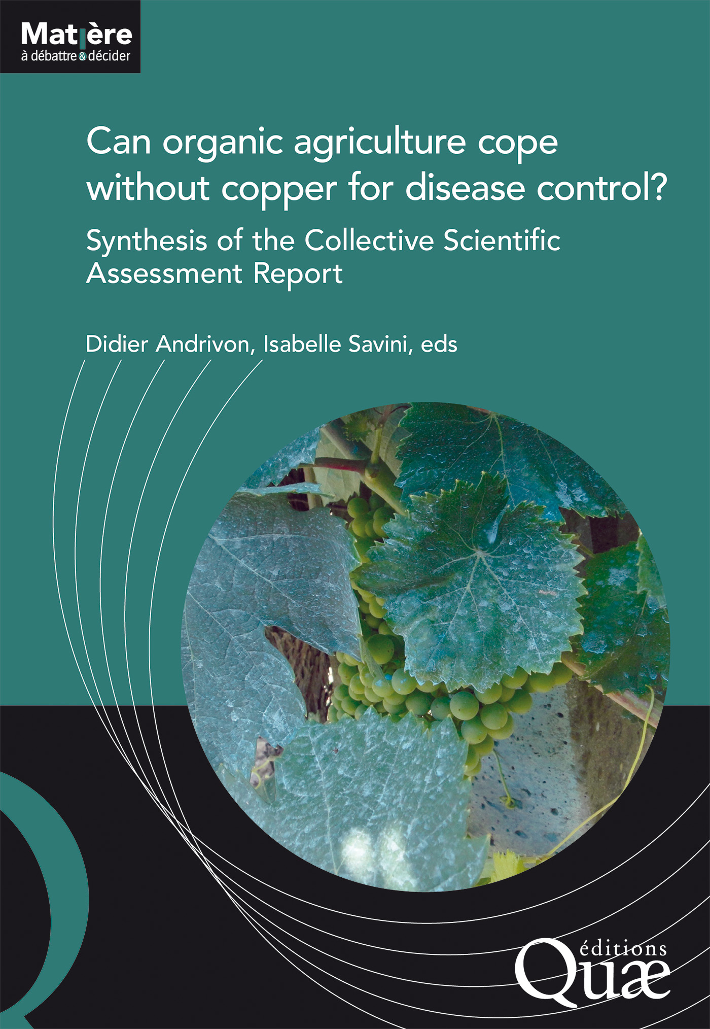 Can organic agriculture cope without copper for disease control?