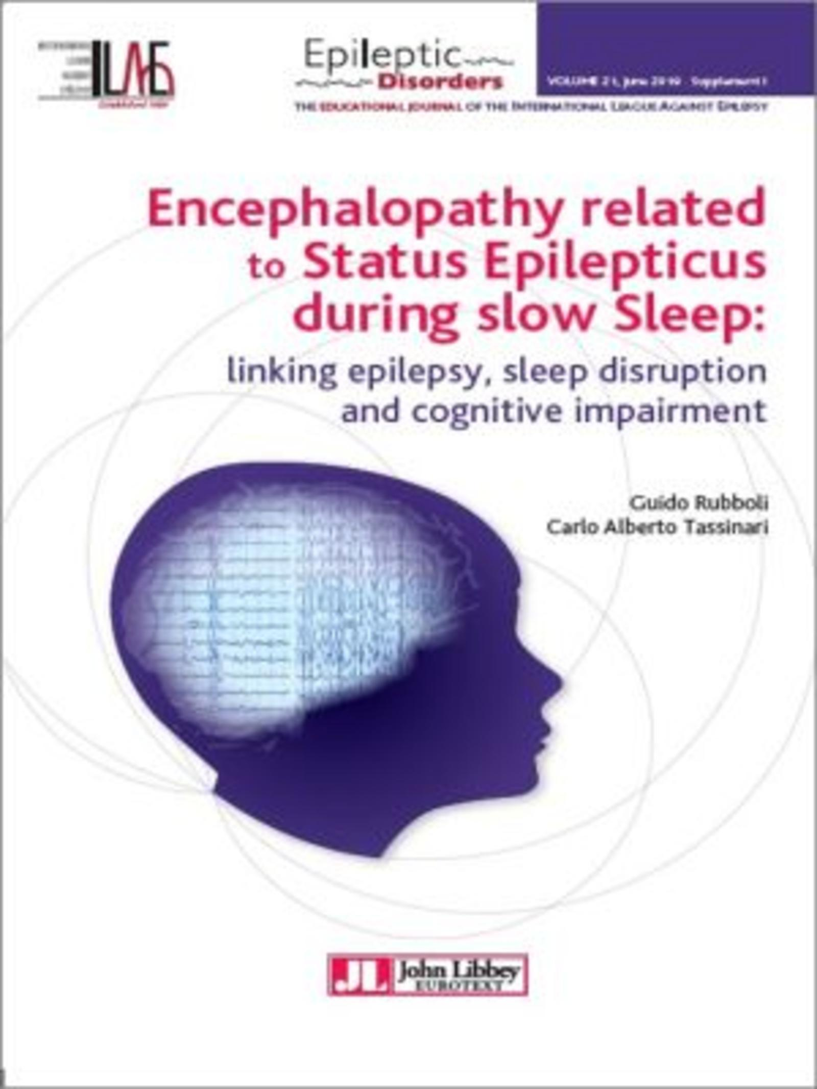 Encephalopathy related to Status Epilepticus during slow Sleep