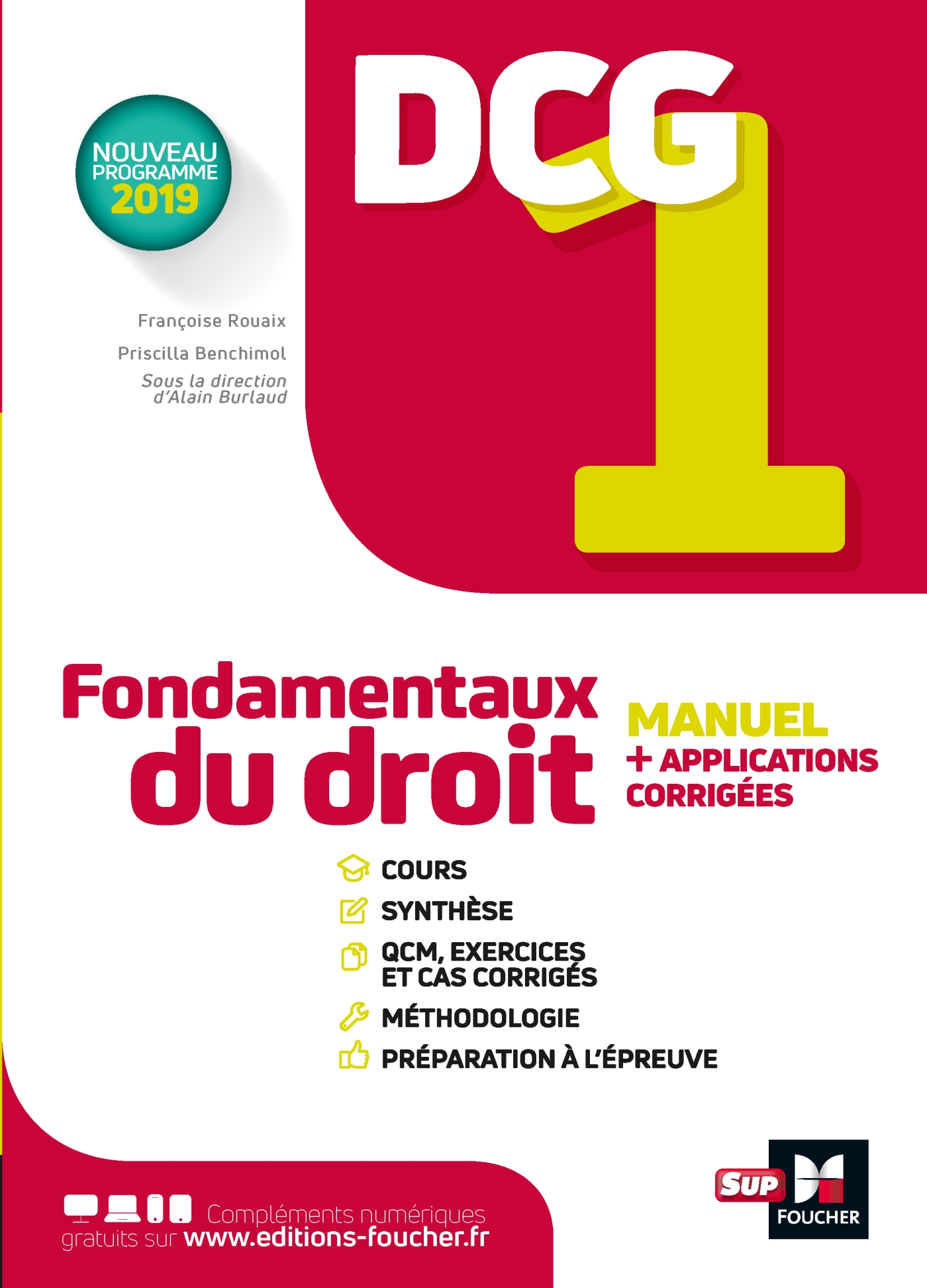 DCG 1 - Fondamentaux du droit - Manuel et applications