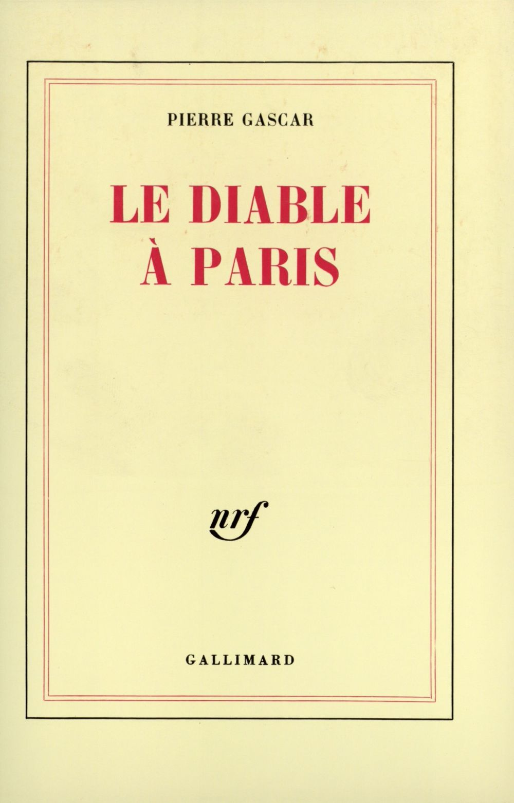 Le Diable à Paris