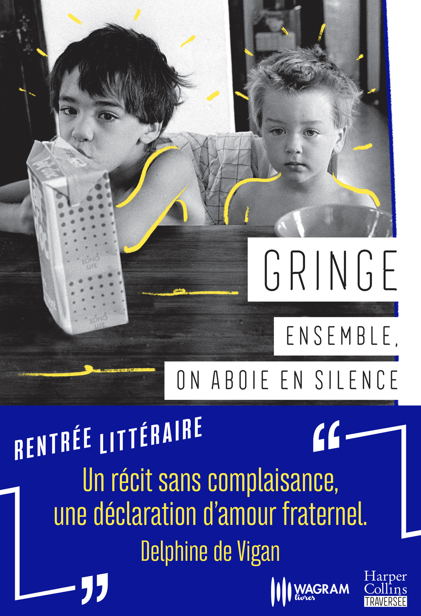 Ensemble, on aboie en silence | Gringe, . Auteur