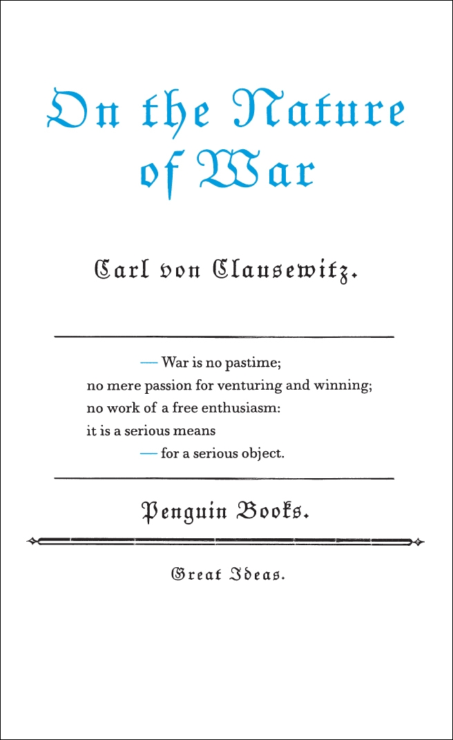On the Nature of War