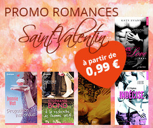 Promo Saint-Valentin ebooks romances
