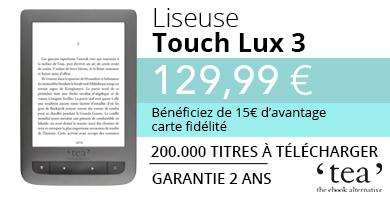 Liseuse TEA TouchLux 3