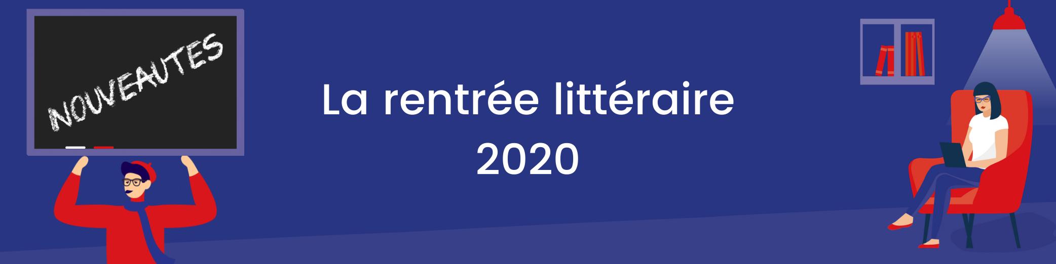 Image : La rentrée littéraire 2020