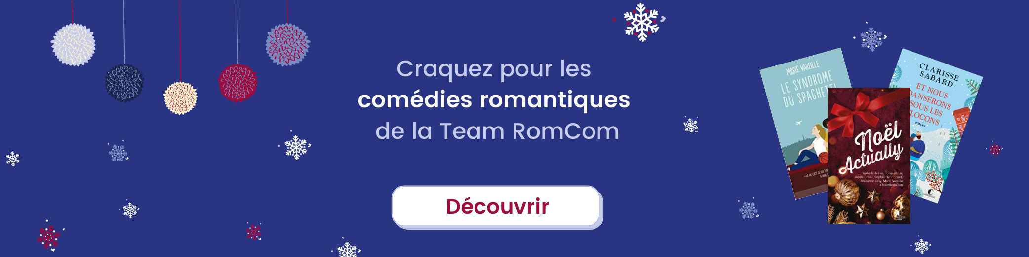 Découvrir la Team RomCom