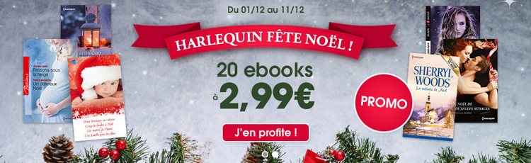 Harlequin fête Noël
