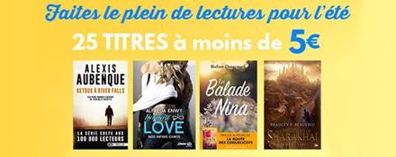 Summer read à 4,99€